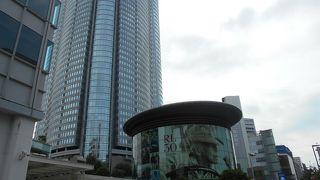 巨大な都市再開発で、モールは分かりにくい。