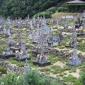 写真:頭ヶ島キリシタン墓地