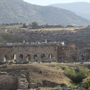 ローマ時代のテルマエロマエ(温泉保養地)として栄えた遺跡です。
