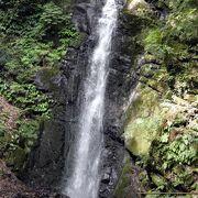 奥湯河原の不動滝