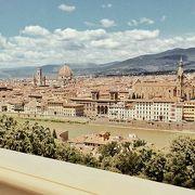 フィレンツェの街が一望