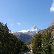 スイスで人気の山