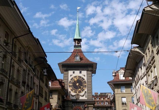 時計塔の仕掛けが見れる