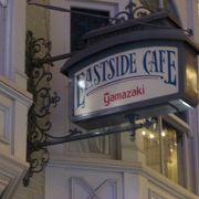 イーストサイドカフェのパスタセット