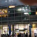 写真:釜山駅前広場 噴水ショー