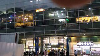 釜山駅前広場 噴水ショー
