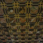 永平寺。天井画の豪華さも堪能