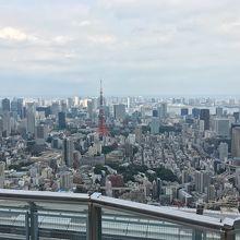 東京を一望