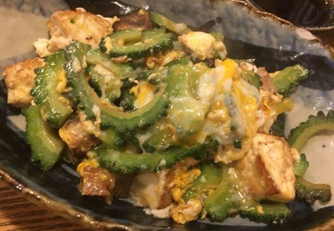 銀座で沖縄料理
