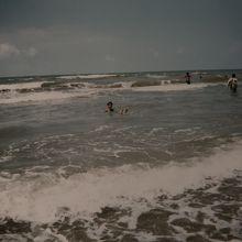 千里浜です。