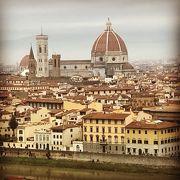 フィレンツェの街が見渡せます