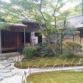 犬山城近くの庭園と茶室