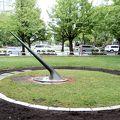 写真:大通公園 日時計