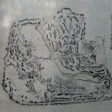 箱根山の配置に関する史的な資料です。歴史の重みを感じます。