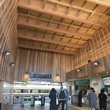 銚子駅も改装されているのですね!