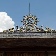フエで一番古いお寺