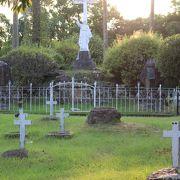 キリシタンのお墓や慰霊塚などがあります