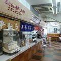 写真:美合パーキングエリア(上り線) スナックコーナー