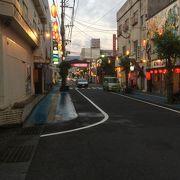 奄美大島の夜の町
