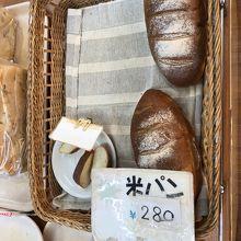 人気の米粉パン