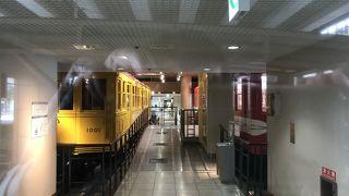 メトロの博物館です。