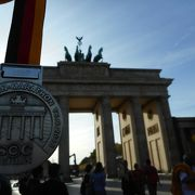 ベルリンマラソンのゴール