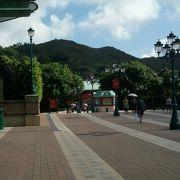 香港ディズニーランドがある島です
