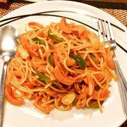 バンコクでスパゲティナポリタン