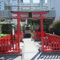 写真:アクアシティお台場神社