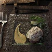 パラオのお洒落なレストラン