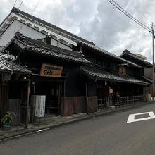 旧家奥村家の住宅を生かしたレストランです。
