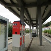 ドイツ国鉄は無人駅が多い