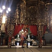 本尊の聖観世音菩薩を祀ってあります。