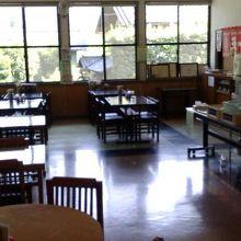 2階の食堂