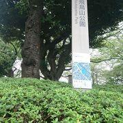 都内有数の桜の名所