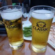 会場の外れですが海外ビールブースも最高です!