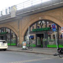 ハッケシャー・マルクト駅からすぐです。