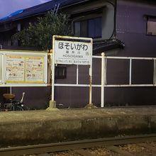 細井川停留場
