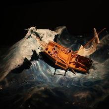 初航海で遭難