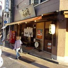 原爆ドーム近くのお店。