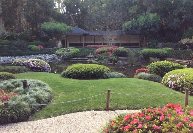 マウントクーサ展望台 植物園