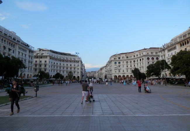 アリストテレス広場