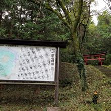 武田の平山城