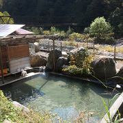 欅平から温泉のはしご