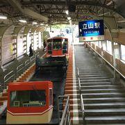 電鉄富山駅でも予約可能