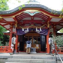 大銀杏のある神社