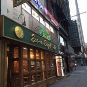 有名なベーグルのお店