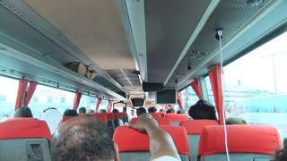 フェリー用のシャトルバス