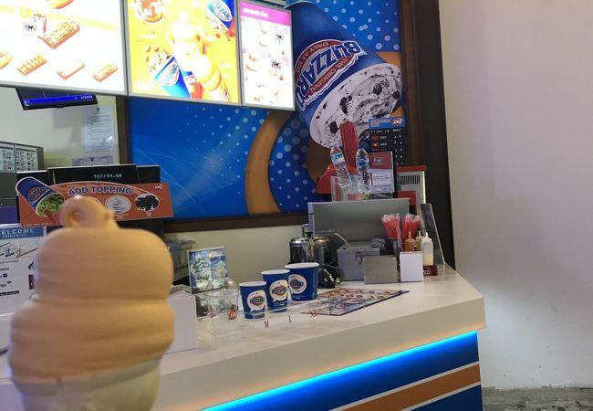 タイティーのアイスが美味しい