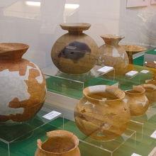 土器の展示